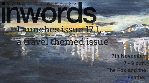 In/Words Travel Issue Launch at the Fox and Feather